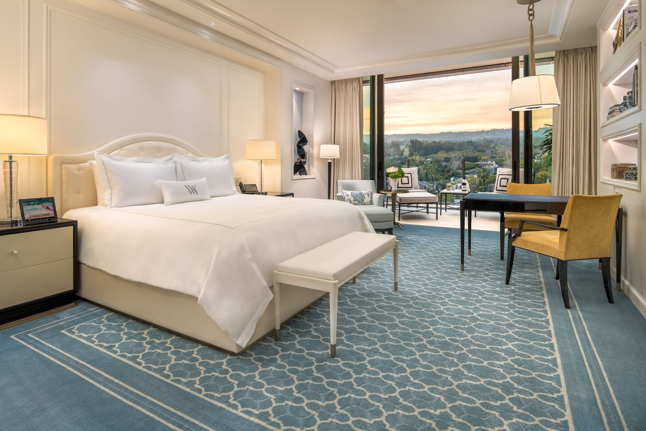 "First Look: Waldorf Astoria Beverly Hills Unveils Breathtaking ""Rooms with a View"""